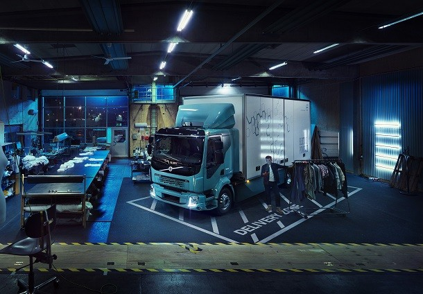 Volvo FL Electric : première mondiale