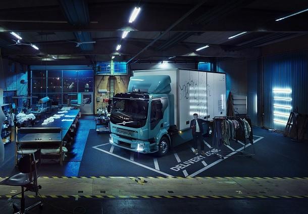 Volvo FL Electric : wereldprimeur