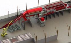 Recyclage : une unité de tri des déchets de chantiers