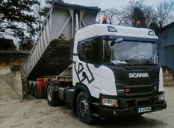 Scania XT Tour : démonstrations et journées d'essai