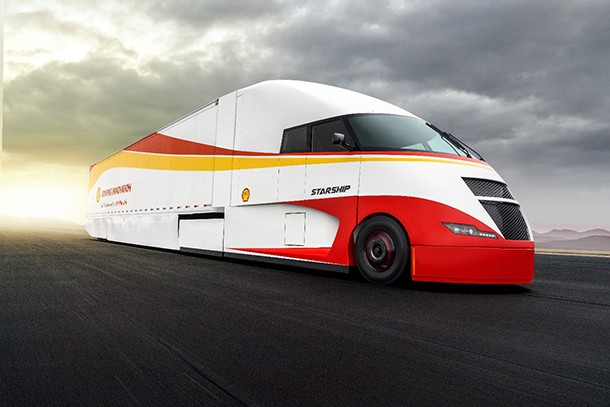 The Starship project: a highly fuel-efficient truck