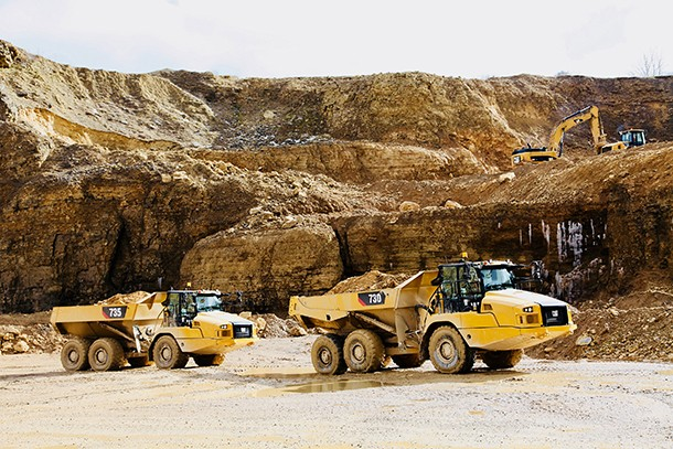 CAT upgrades its articulated dumpers