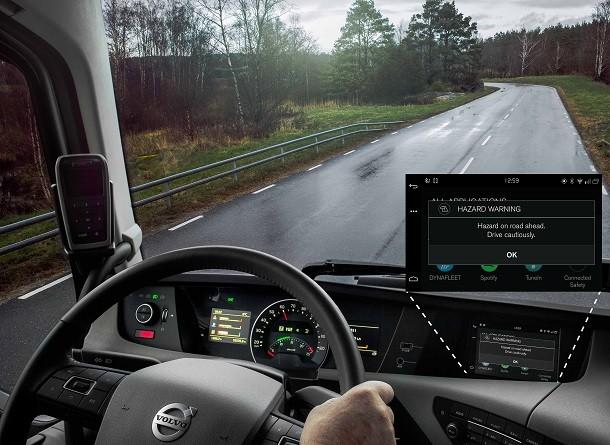 Volvo : Cuando los camiones y los coches comunican