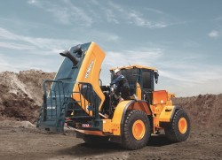Hyundai launches a new wheel loader for waste management