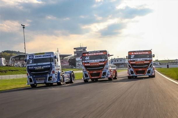 Truckracing-Europameisterschaft 2018: Iveco sponsert den Bullen IVECO Magirus