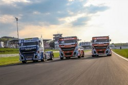 Europese kampioenschappen Truckracing 2018: Iveco sponsort de Bullen IVECO Magirus