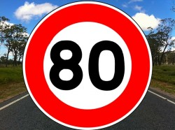 Limitation à 80 km/h à partir du 1er juillet: le décret publié au Journal Officiel