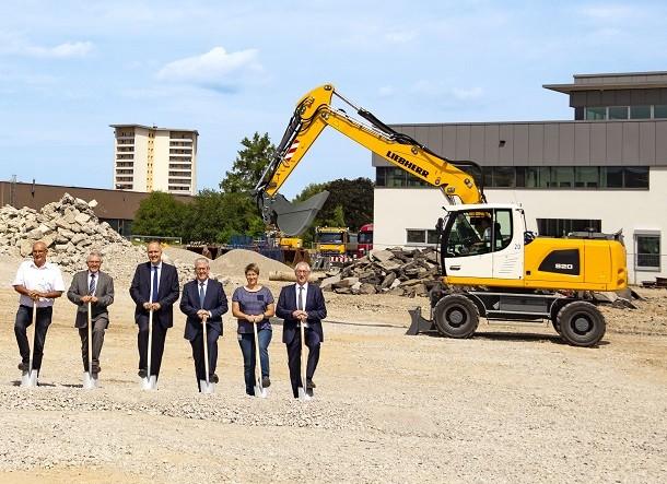 Liebherr construit son nouveau centre logistique
