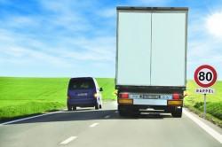 Poids lourds et limitation à 80km/h: à quoi s'attendre?