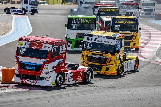 Grand Prix Camions de Magny Cours: 20 camions au départ