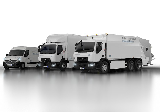 Renault Trucks to develop new electric truck range