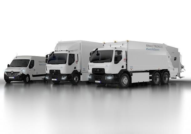 Renault Trucks bereidt nieuw assortiment elektrische vrachtwagens voor