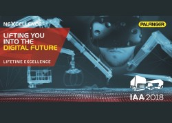 Palfinger going to the IAA