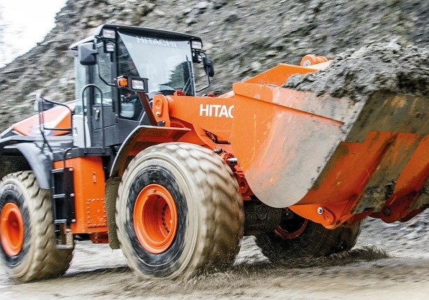 ZW330-6 : an unswerving wheel loader