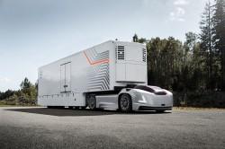 Futuristische Sattelzugmaschinen von Volvo Trucks