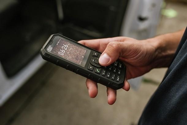 Cat B35: un telefono 4G per i cantieri più difficili