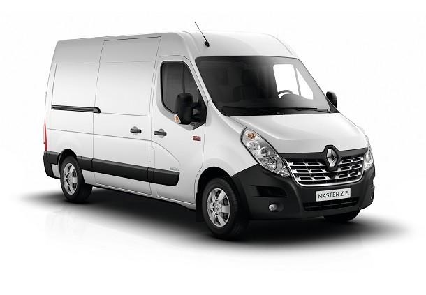 Renault Master ZE, de nieuwe 100% elektrische bedrijfswagen
