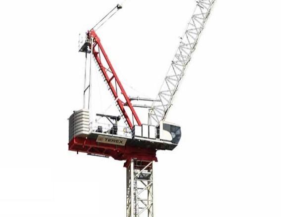 Terex lanceert een nieuwe torenkraan met optopbare giek