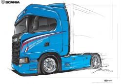 250.000ème camion pour l'usine française de Scania : un exemplaire unique mis en vente