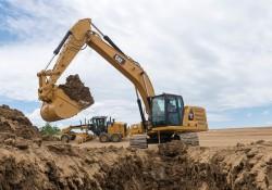 Neue Bagger CAT 30 Tonnen an der Spitze der Technologie