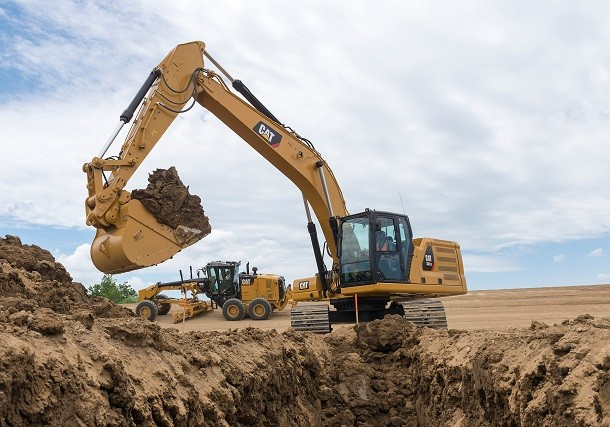 Nuovi escavatori CAT 30 tonnellate all'avvanguardia