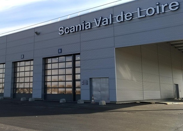 Scania France ouvre un nouveau point de service