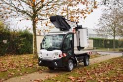 Klubb lance une nacelle sur véhicule électrique