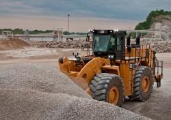 Aggregate Handler, la chargeuse sur pneus spéciale granulats de CAT