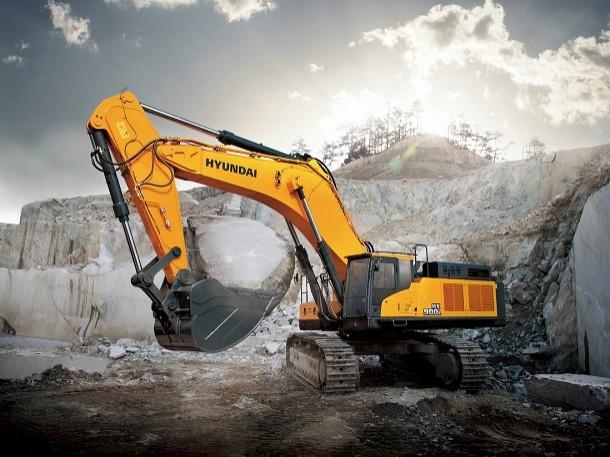 Hyundai CE presenta 2 nuevas excavadoras de cadenas HX