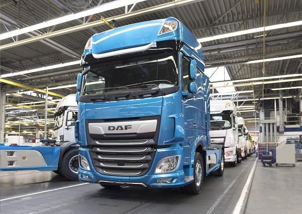 DAF leader dans 7 pays d'Europe!