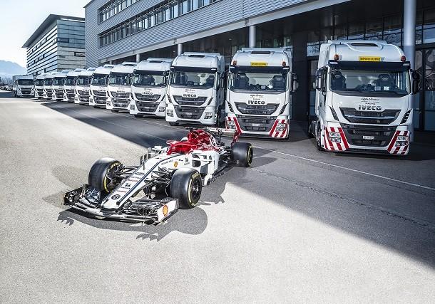Iveco équipe le Team Alfa Romeo Racing