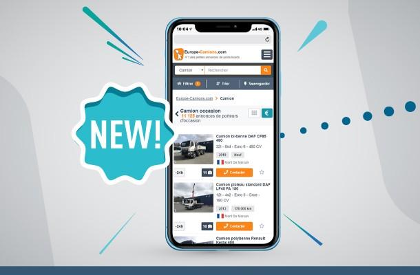 Nuovo design del sito Europa-camion.it