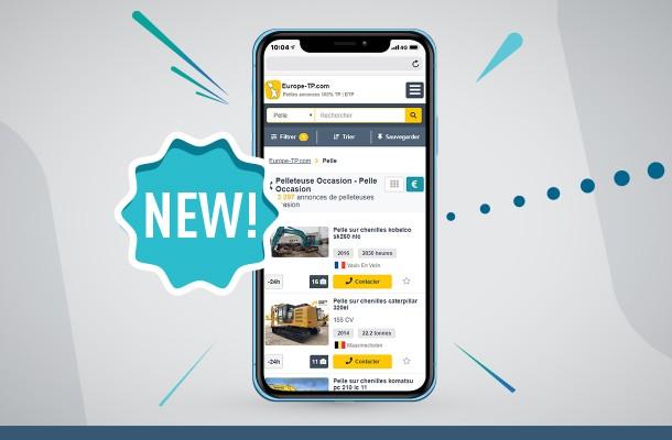 Europa-Maquinaria.com adota um novo design