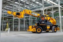 JCB renouvelle son offre avec de nouveaux engins