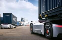 Vera, de vrachtwagen zonder cabine van Volvo Trucks
