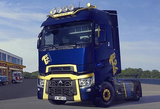 Une série limitée pour les 125 ans de Renault Trucks