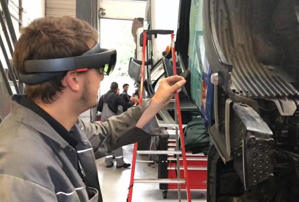 Des lunettes holographiques pour les techniciens MAN