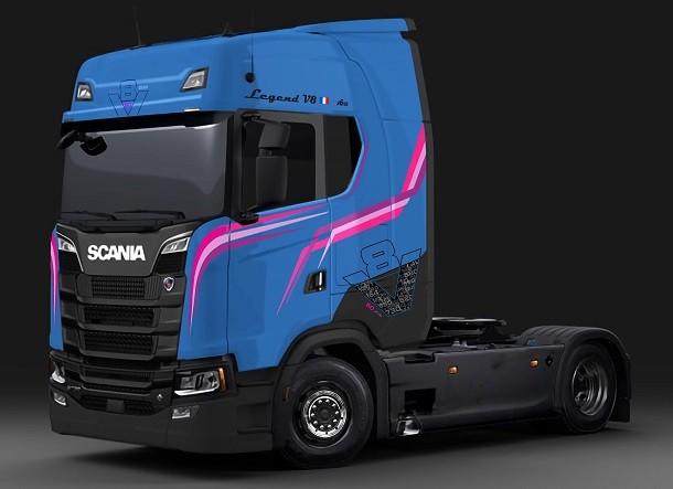 Legend V8: la série limitée de Scania en l'honneur du V8