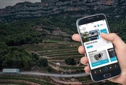 Volvo Truck Start: eine Anwendung, um mehr von den FM und FH-Modellen zu erfahren.