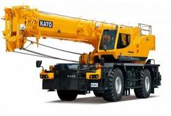 Kato présente sa nouvelle grue tout terrain de 51 tonnes
