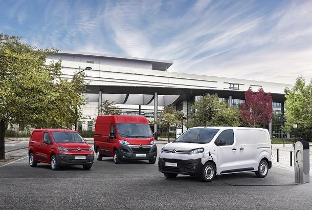 Citroën électrifie ses fourgons compacts