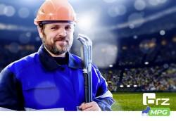 Du football virtuel à Batimat!