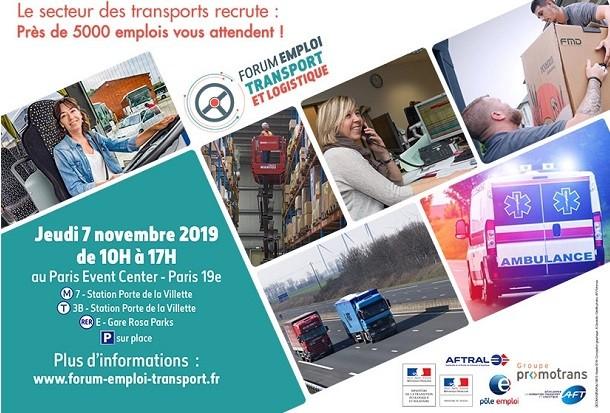 Forum Emploi Transport et Logistique: c'est maintenant