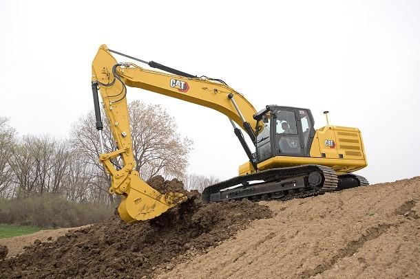 La nouvelle pelle hydraulique 326 Cat