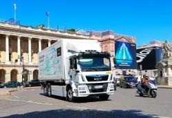 MAN avvia la produzione in piccola serie del camion da distribuzione elettrico eTGM