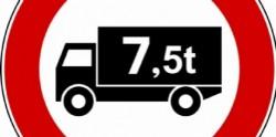 Ecco i 77 giorni di divieto per i camion validi nel 2020