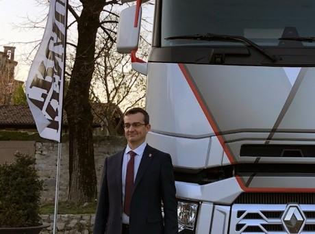 Sirolli, AD Renault Trucks: «Dobbiamo alzare la nostra quota di mercato»