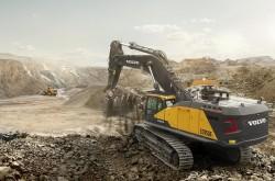 EC950F, la nouvelle pelle Volvo de 90 tonnes