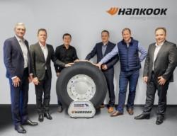 Schmitz Cargobull conferma gli pneumatici Hankook come primo equipaggiamento fino al 2022
