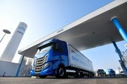 Gas naturale, a Torino nuova stazione di rifornimento Iveco-Engie